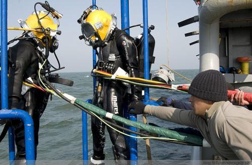进行水下焊接前的防范措施